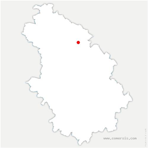 carte de localisation de Épizon
