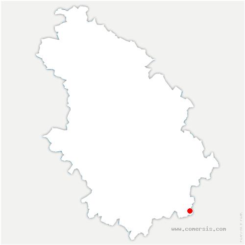 carte de localisation de Farincourt