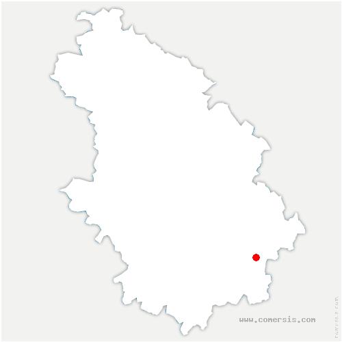 carte de localisation de Fayl-Billot