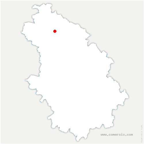 carte de localisation de Fays