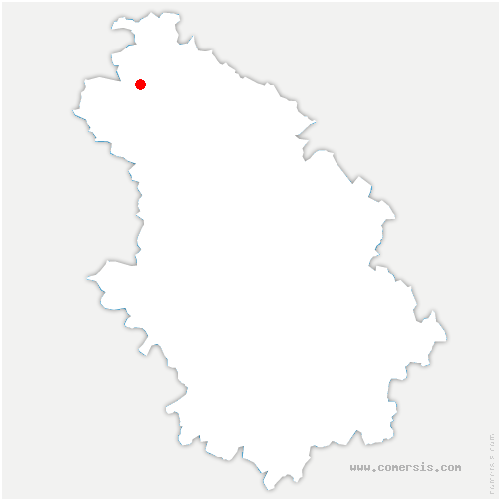 carte de localisation de Frampas