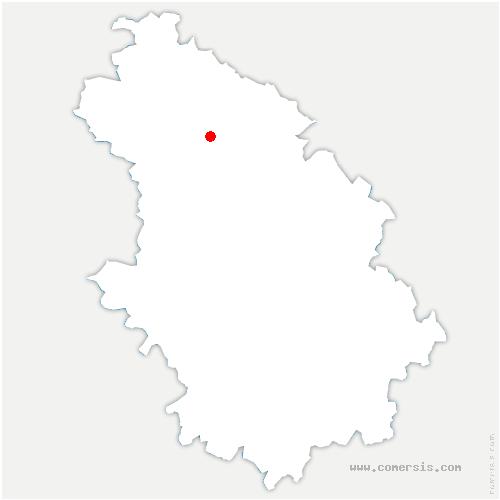 carte de localisation de Fronville