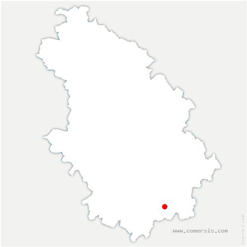 carte de localisation de Grenant