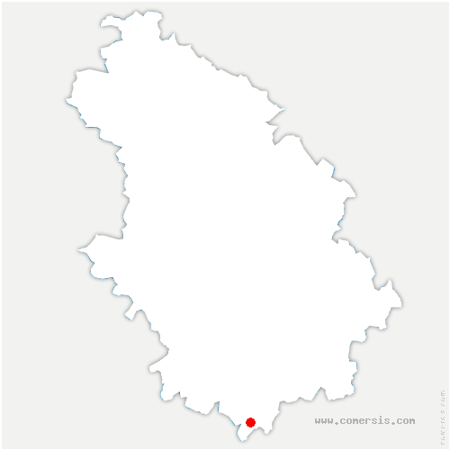 carte de localisation de Isômes