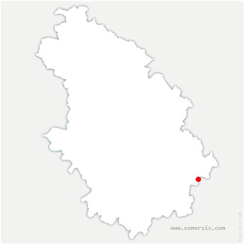 carte de localisation de Pisseloup
