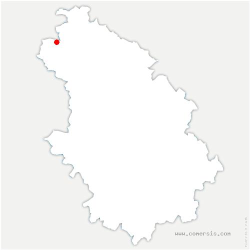 carte de localisation de Planrupt