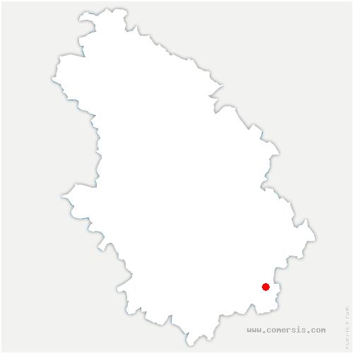 carte de localisation de Poinson-lès-Fayl