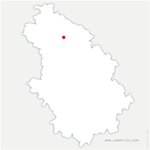 carte de localisation de Rupt