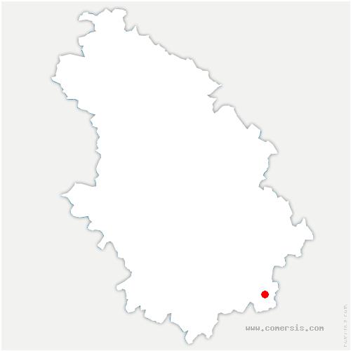 carte de localisation de Savigny