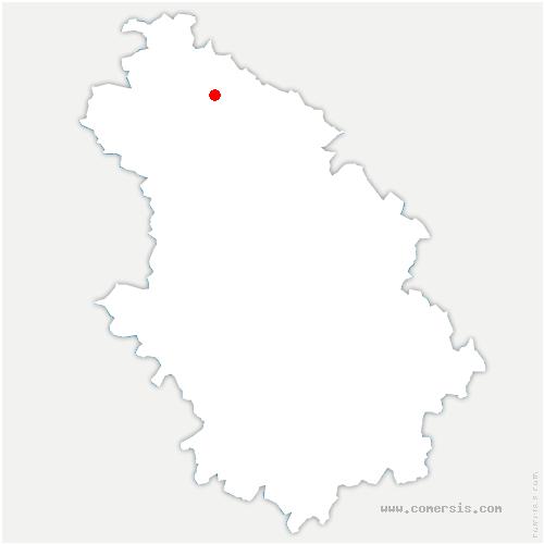 carte de localisation de Sommancourt