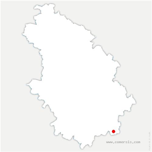 carte de localisation de Tornay