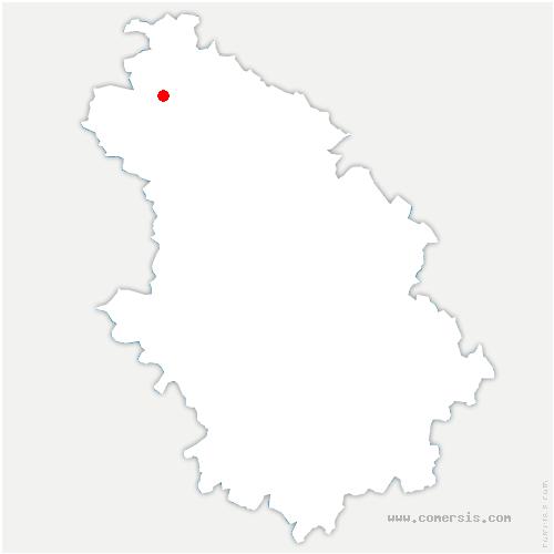 carte de localisation de Voillecomte