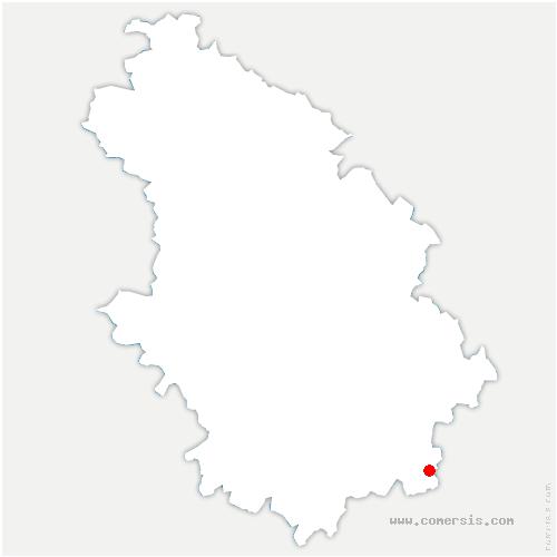 carte de localisation de Voncourt