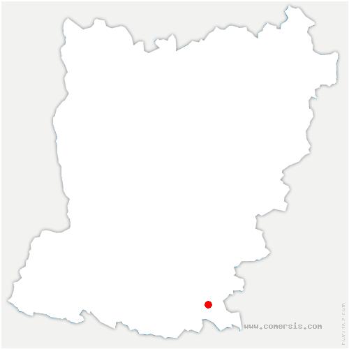 carte de localisation de Bierné-les-Villages
