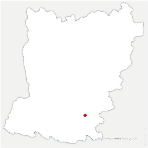 carte de localisation de Bouère
