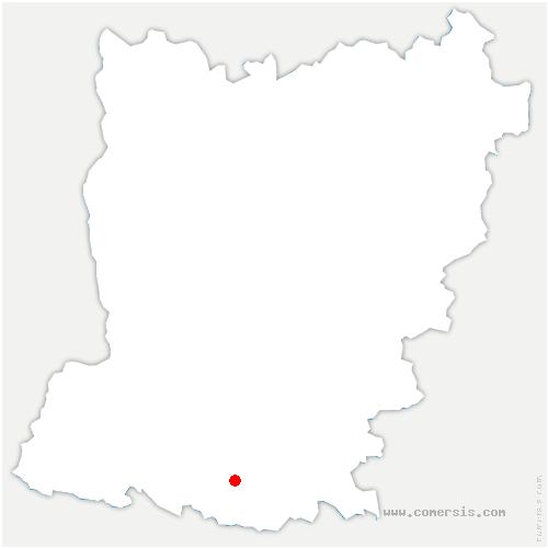 carte de localisation de Château-Gontier-sur-Mayenne