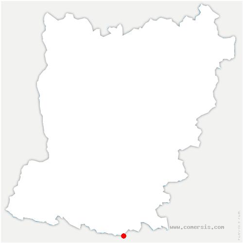carte de localisation de Daon