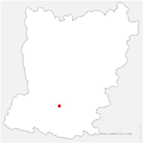 carte de localisation de Houssay