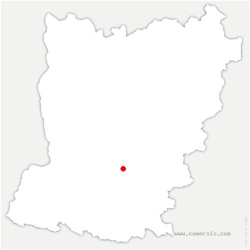 carte de localisation de Maisoncelles-du-Maine