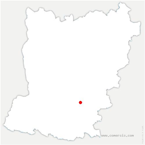 carte de localisation de Meslay-du-Maine