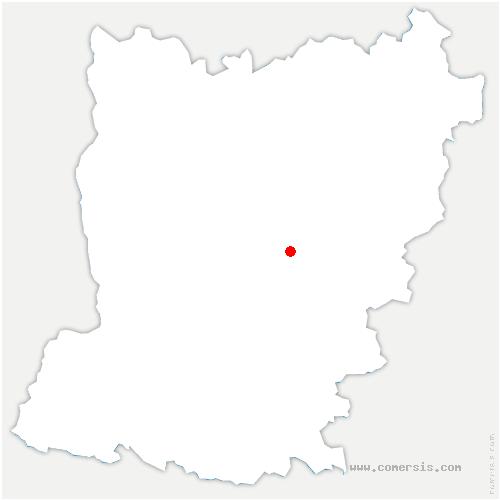 carte de localisation de Montsûrs
