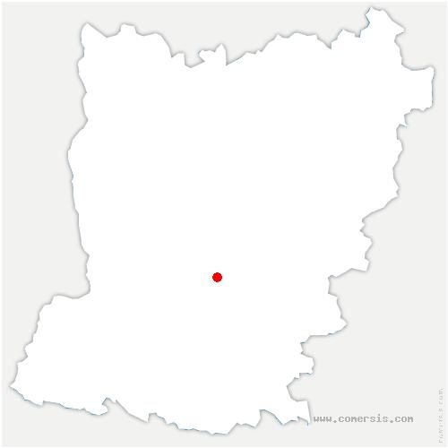 carte de localisation de Parné-sur-Roc