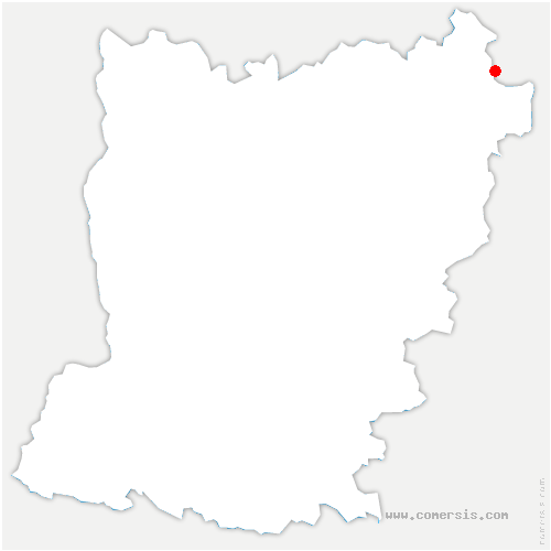 carte de localisation de Pré-en-Pail-Saint-Samson