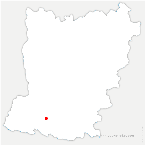 carte de localisation de Prée-d'Anjou