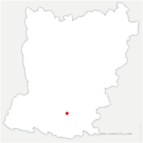 carte de localisation de Ruillé-Froid-Fonds