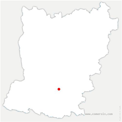 carte de localisation de Villiers-Charlemagne