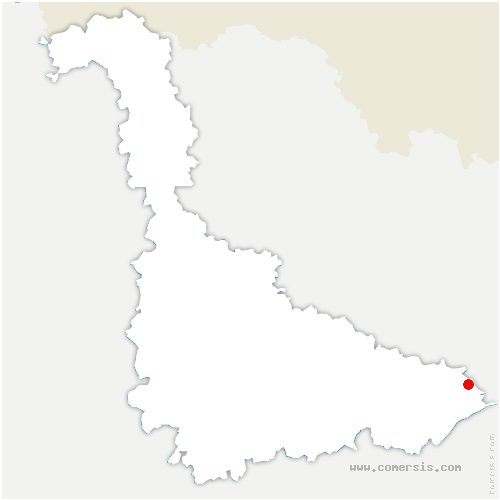 carte de localisation de Bertrambois