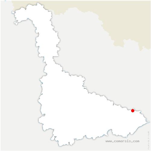carte de localisation de Gogney