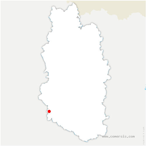 carte de localisation de Baudonvilliers