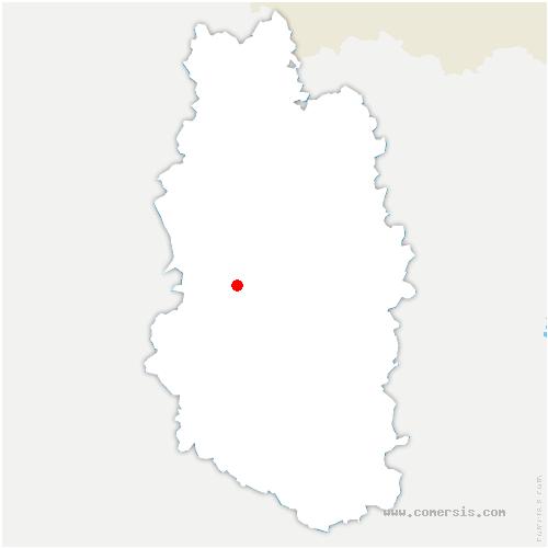carte de localisation de Beausite