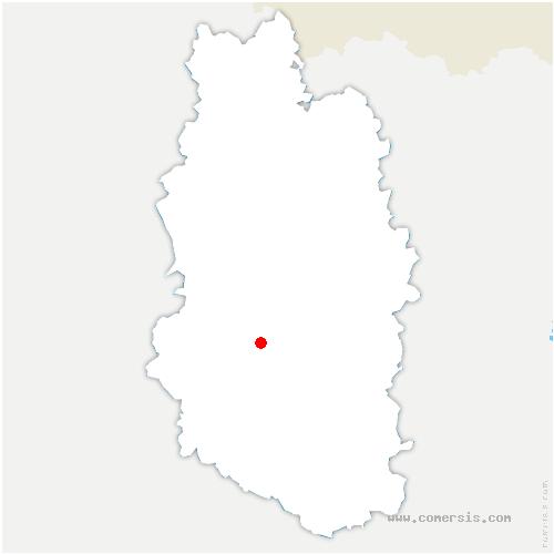 carte de localisation de Belrain