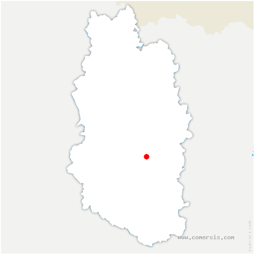 carte de localisation de Bislée