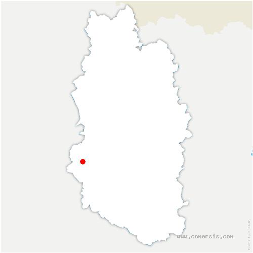 carte de localisation de Brabant-le-Roi