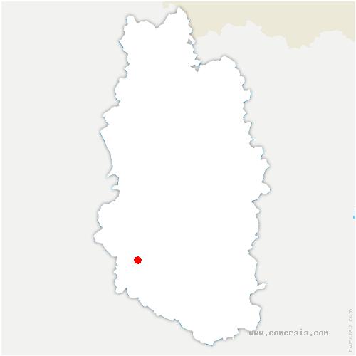 carte de localisation de Brillon-en-Barrois