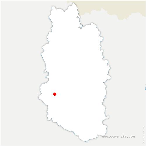 carte de localisation de Chardogne