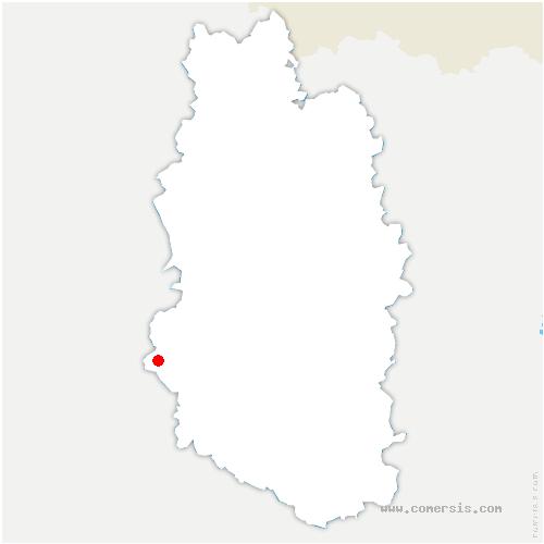carte de localisation de Contrisson