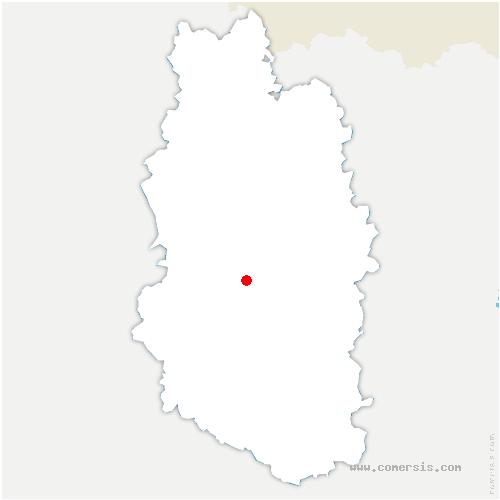 carte de localisation de Courouvre