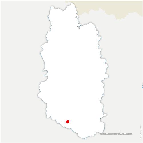 carte de localisation de Couvertpuis