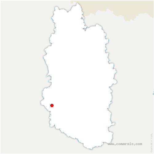 carte de localisation de Couvonges