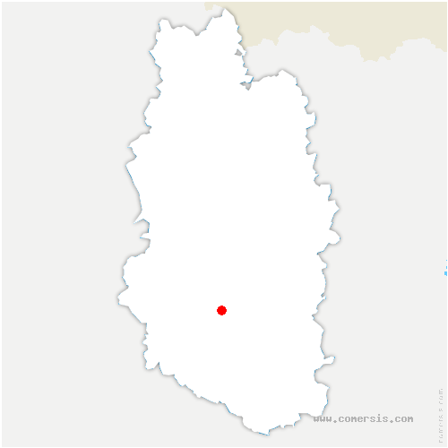 carte de localisation de Culey
