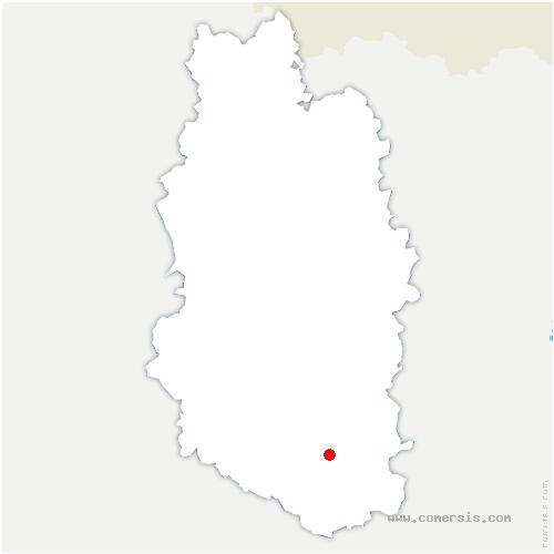 carte de localisation de Demange-Baudignécourt