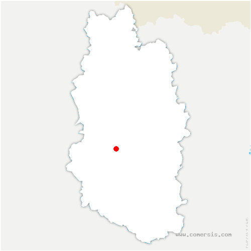 carte de localisation de Érize-la-Petite