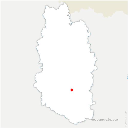 carte de localisation de Erneville-aux-Bois