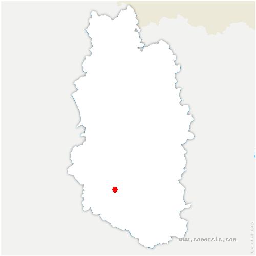 carte de localisation de Guerpont