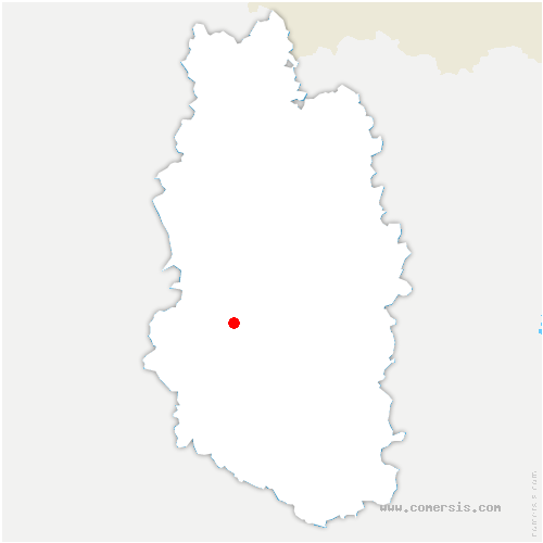 carte de localisation de Hauts-de-Chée
