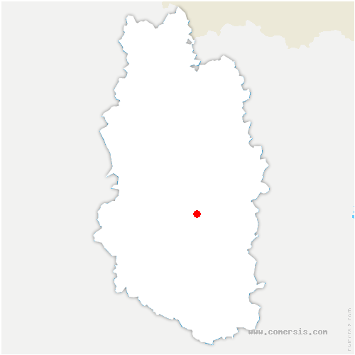 carte de localisation de Kœur-la-Grande